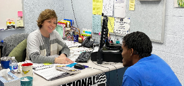 Career Navigator Shares Options with Students