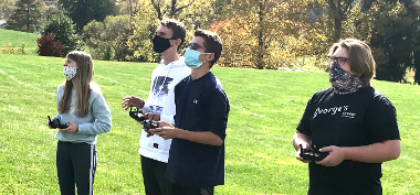 STEM Students Learn to Fly Drones