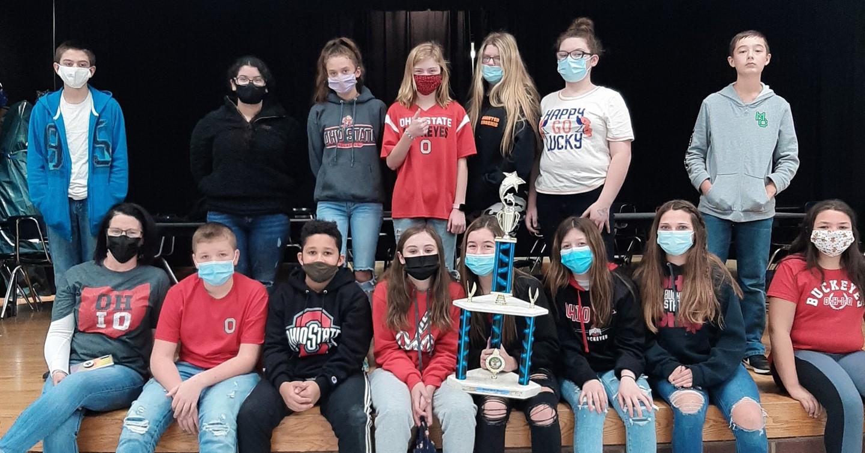 7th Grade Class earns Buckeye Spirit Award