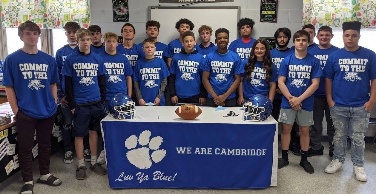 CMS Bobcat Football Signing Day
