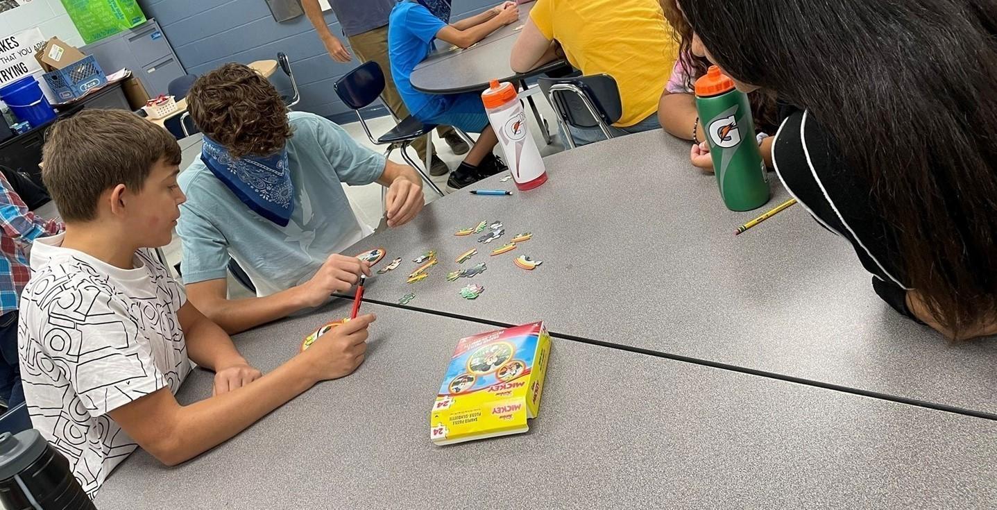 Team Building 7th grade activity