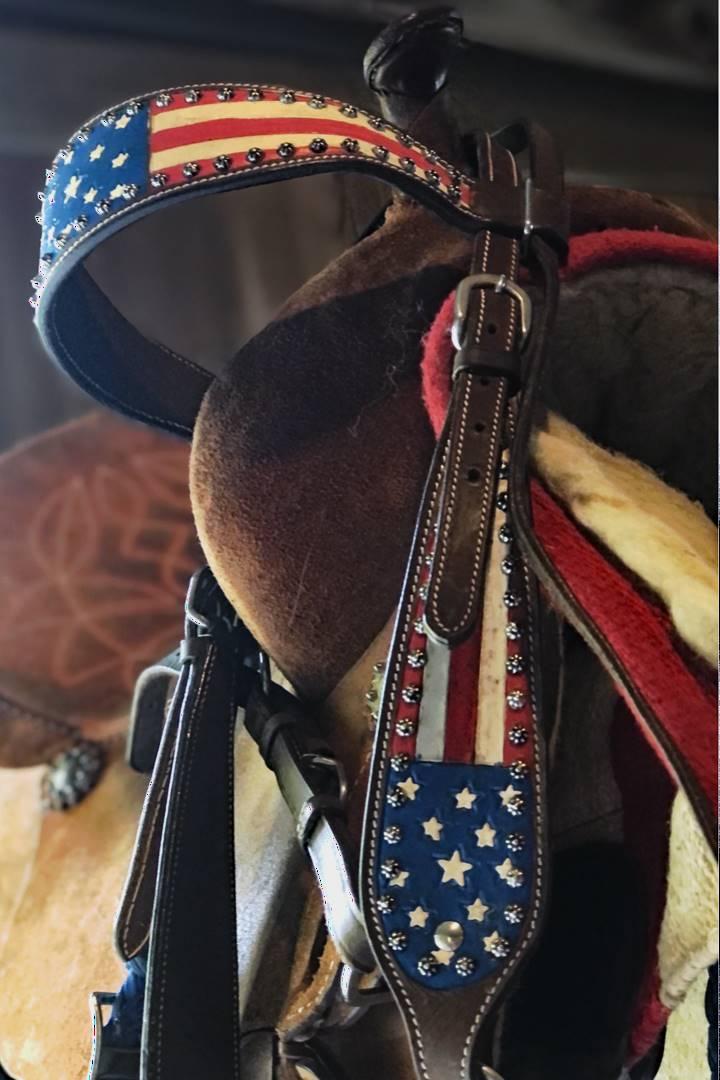 Patriotic Saddle stuff